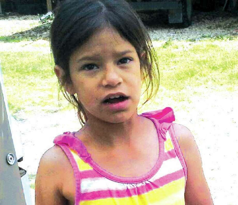 Jazmin Alvarez, 8, was struck by a pickup and died at the scene. Photo courtesy of Montgomery County Police Reporter. Photo: Scott Engle/Montgomery County Police Reporter