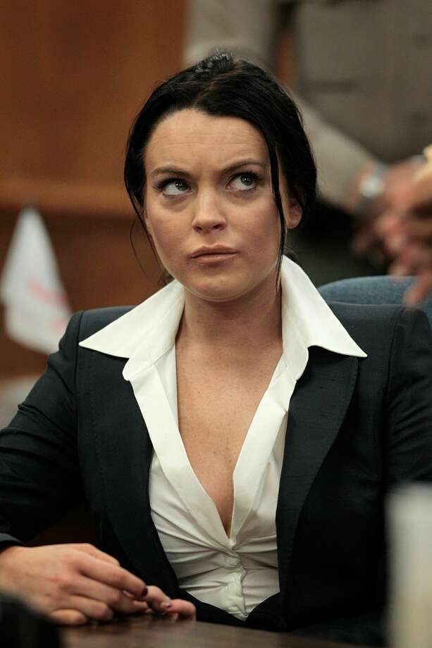 Actress Lindsay Lohan is shown during a hearing in Beverly Hills, Calif., Monday, May 24, 2010.