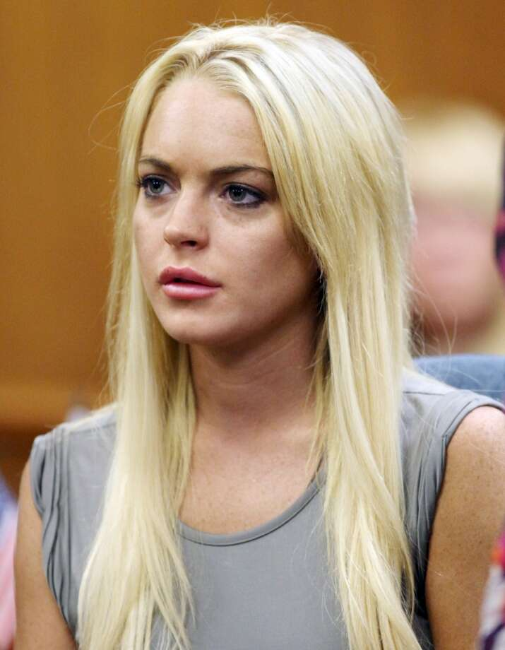 In this July 20, 2010 file photo, Lindsay Lohan listens during a court hearing in Beverly Hills, Calif.