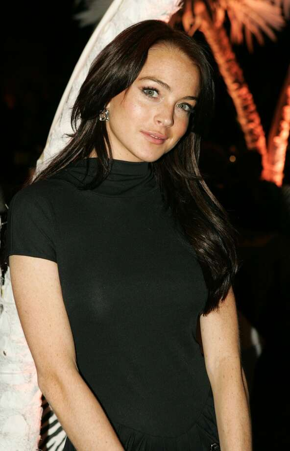 "Actress Lindsay Lohan attends the Universal Pictures' Premiere of ""King Kong"" after party at Pier 92 on Dec. 5, 2005, in New York City."