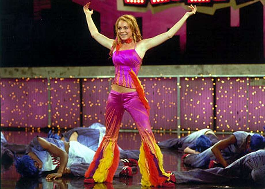 """Lindsay Lohan plays Lola in Walt Disney Pictures' 2004 comedy, """"Confessions of a Teenage Drama Queen."""" Photo: HANDOUT, KRT / WALT DISNEY PICTURES"""