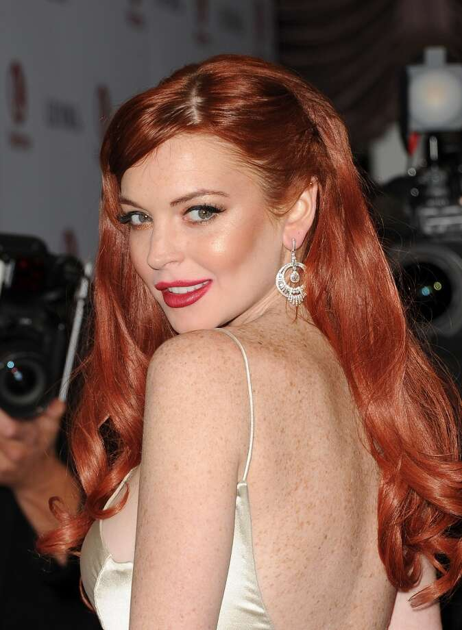 Actress Lindsay Lohan attends the premiere of Lifetime's 'Liz & Dick' at Beverly Hills Hotel on Nov. 20, 2012, in Beverly Hills, California.