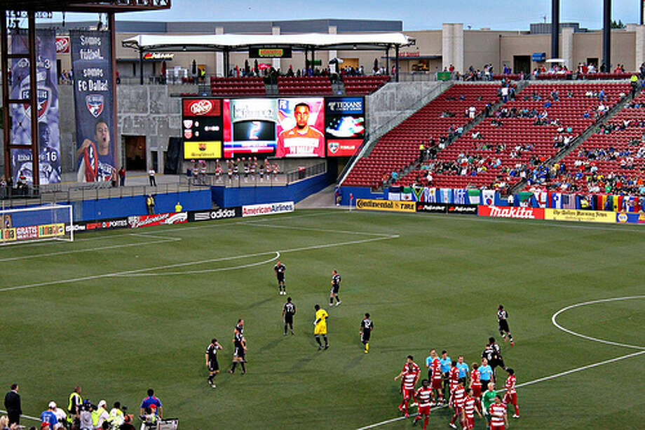 Pizza Hut Park: The stadium in Frisco doubles as a venue for soccer and high school football, and it can seat 21,193 people on game day.