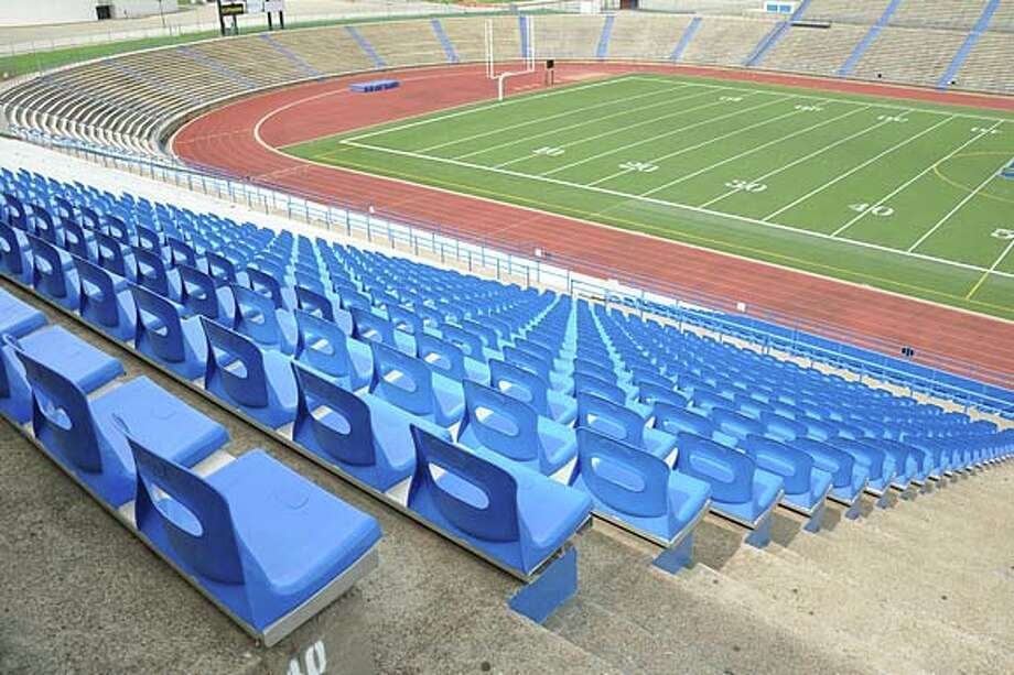 San Angelo Stadium: The stadium is among the state's first bowl stadiums, and it seats 17,500 people. It was original built in 1956.
