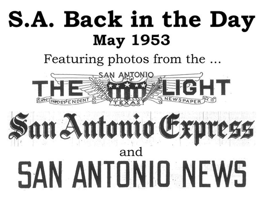 We've combed through the San Antonio Express, San Antonio News and San Antonio Light archives to bring you the best photos from the Alamo City 60 years ago, for the most part using the original photo captions, with exceptions to provide more information. Enjoy! Compiled by Merrisa Brown, mySA.com. Photo: San Antonio Express-News Photo Illustration