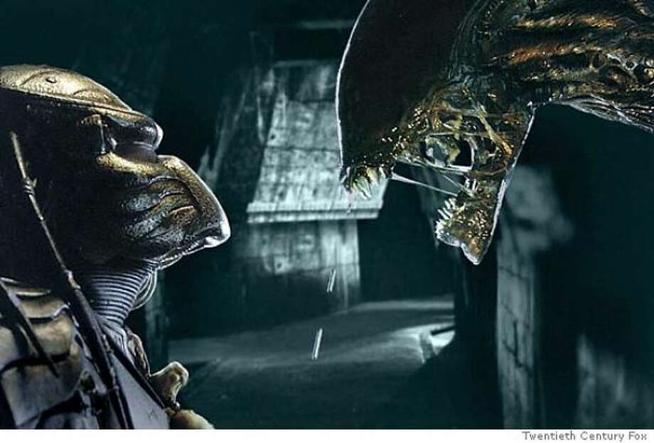 Alien vs. Predator -- pretty violent and disgusting.  Actually wall to wall violent and disgusting.