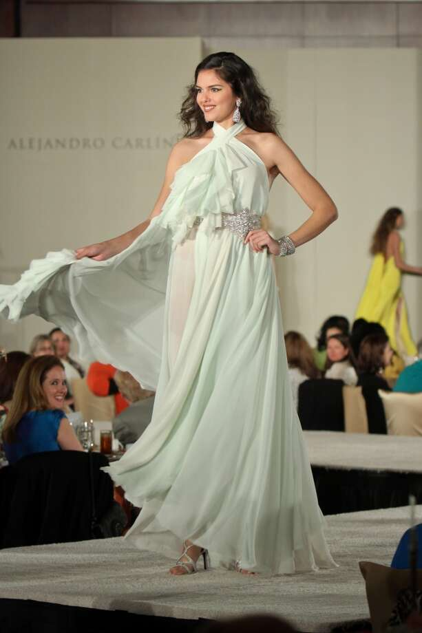 The fashion show by Alejandro Carlin at the Latin Women's Initiative luncheon and fashion show.