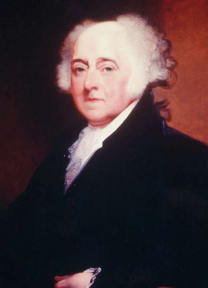 John AdamsPresident John Adams graduated from Harvard in 1755 and taught school in Worcester for several years before decided to enter the field of law. Photo: AP / LIBRARY OF CONGRESS