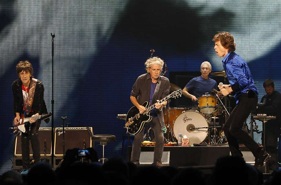 The Rolling Stones played the Oracle Arena in Oakland, Calif., on Sunday, May 5, 2013, as part of their 50th anniversary tour. Photo: Carlos Avila Gonzalez, The Chronicle