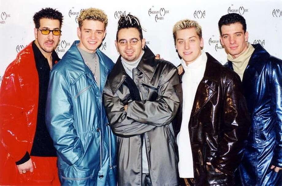 This jacket (1998 photo by Jeff Kravitz/FilmMagic)