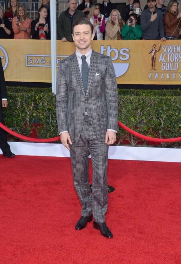 Suits are so much better when they fit properly and are not shiny. (Larry Busacca/WireImage)