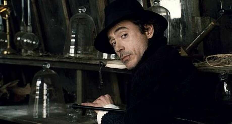 Sherlock Holmes, with Robert Downey, Jr.