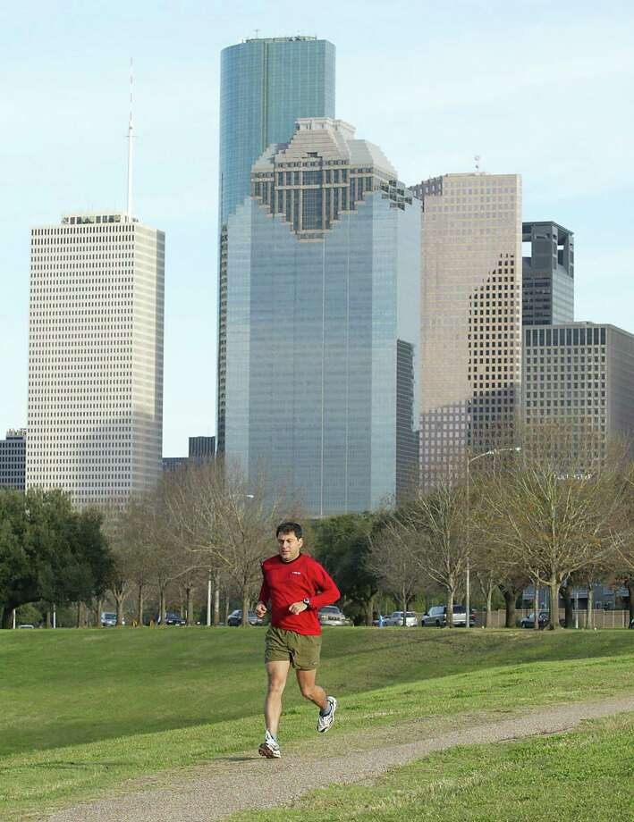 Great jogging trails Photo: James Nielsen, Houston Chronicle / Staff (Contract)