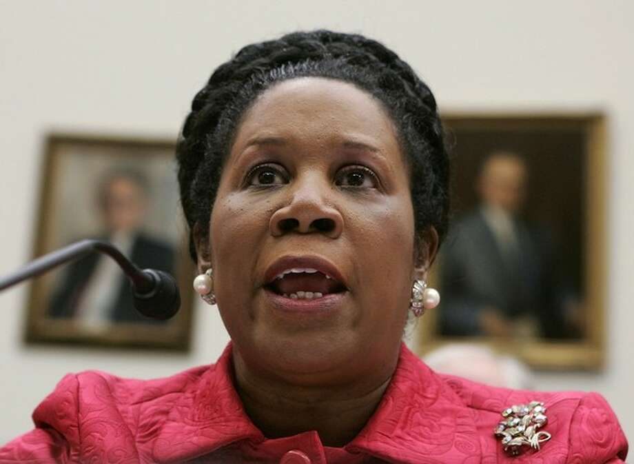"Rep. Sheila Jackson Lee testifies during a hearing before the House Foreign Affairs Committee March 20, 2007 on Capitol Hill in Washington, DC. The hearing was focused on ""Proposed Legislation on Iraq."" Photo: Alex Wong/Getty Images, Getty Images / 2007 Getty Images"