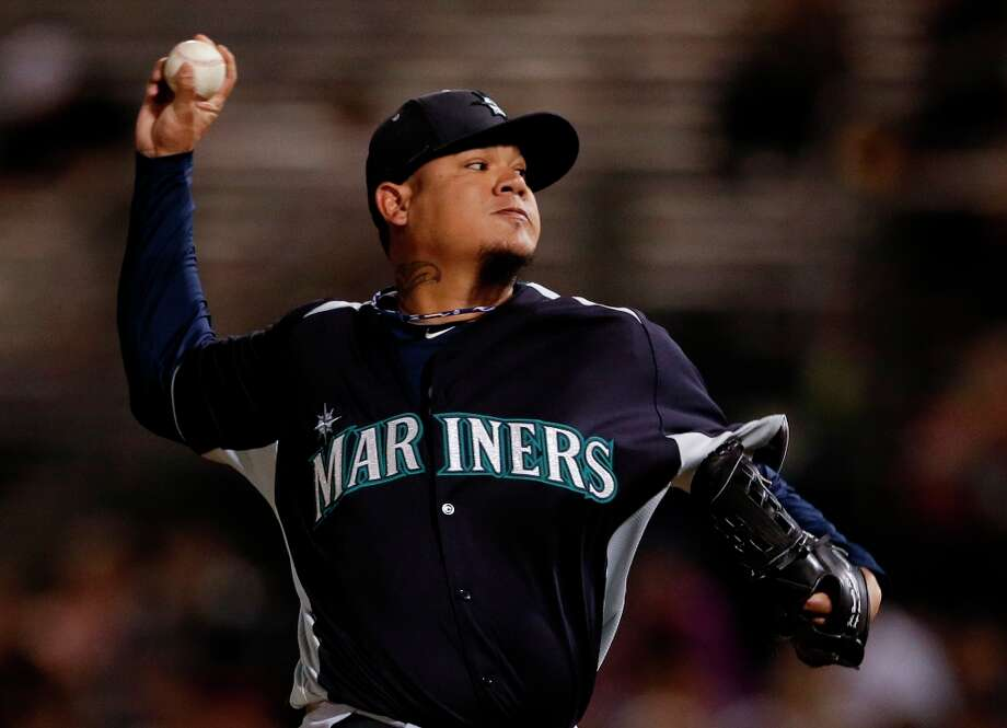 Felix Hernandez, Mariners $20,557,143 Photo: Gregory Bull, Associated Press