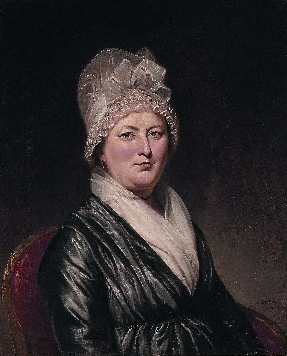 Charles Willson Peale , Portrait of Anna DePeyster, 1798, oil on canvas, 30 x 25 in., 51.32.2