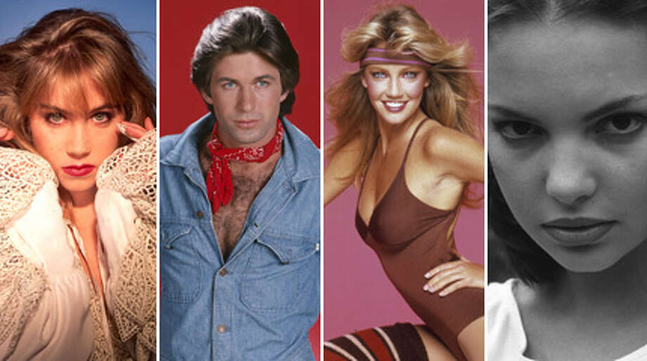 Here's a look at dated celebrity pictures, full of big hair, bad clothes, goofy poses and come-hither stares.