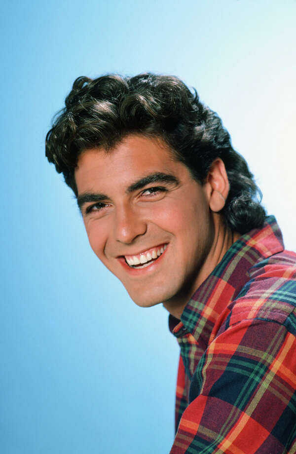 Before the suave in ''Ocean's Eleven:'' George Clooney in ''The Facts of Life,'' mid-80s. Photo: Ron Tom, NBC/NBCU Photo Bank / © NBCUniversal, Inc.