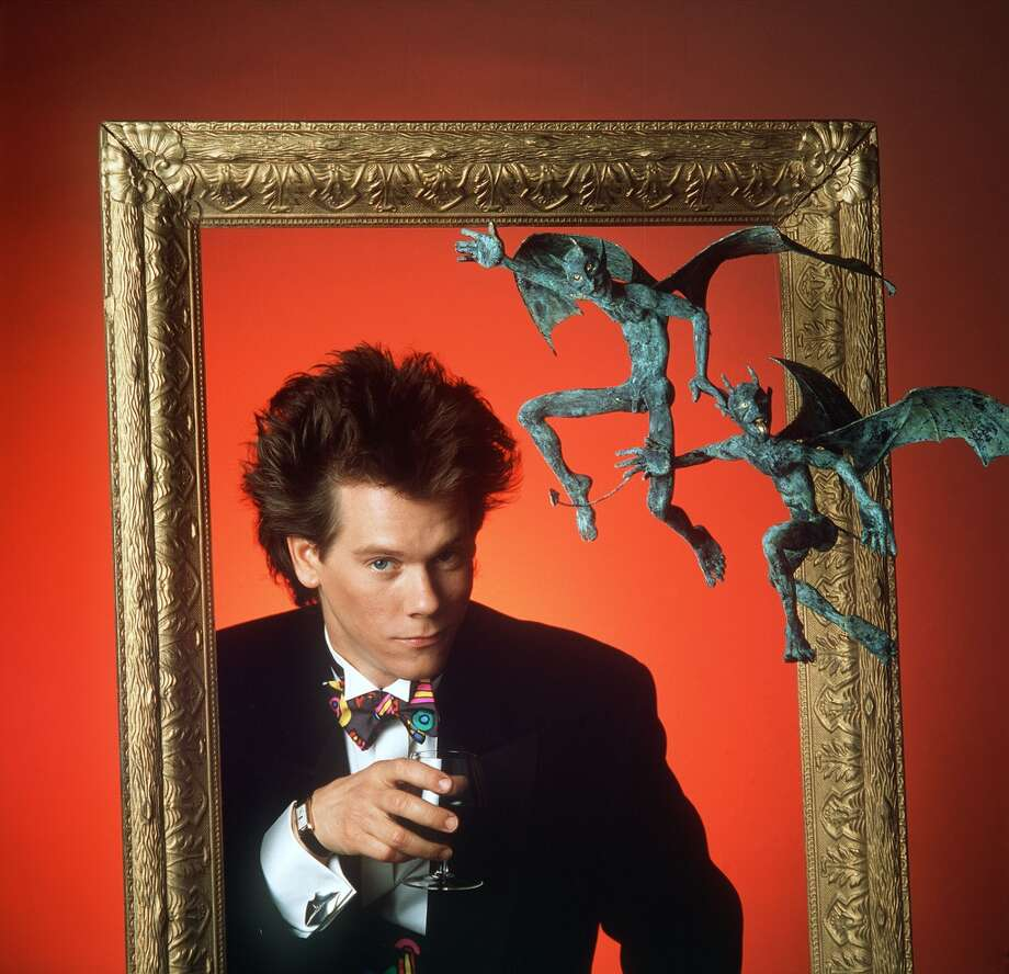 No, not cheesy at all. It's Kevin Bacon, in 1980.