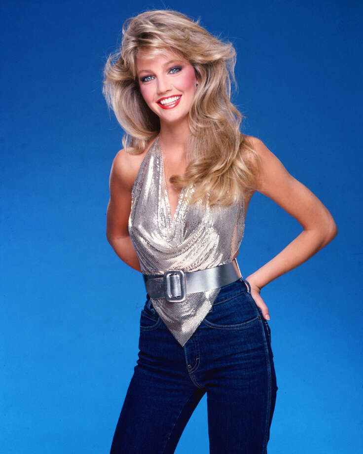 This is the last Heather Locklear photo, promise. Had to include this one for the outfit. (1981). Photo: Harry Langdon/M. Watts, Getty Images / 1981 Harry Langdon