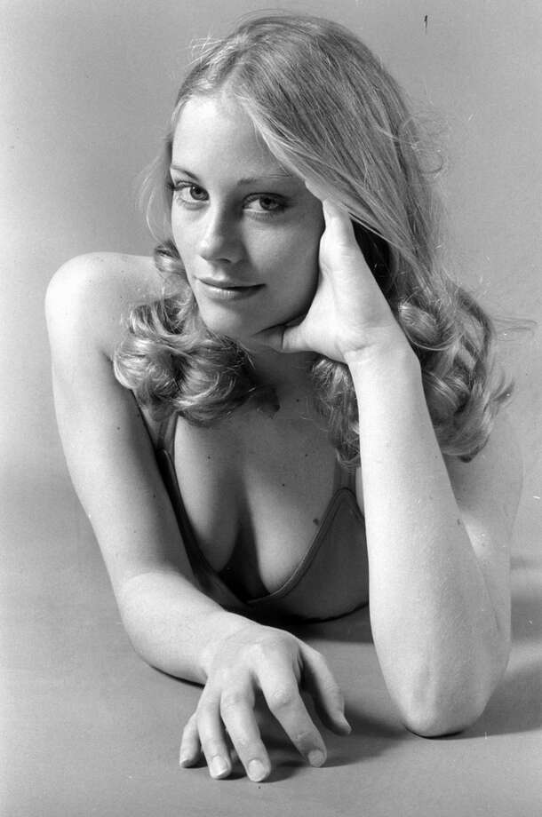 Cybill Shepherd, 1972. (Not awkward, but representative of belly-lying poses of era era). Photo: Gerald Israel, Getty Images / Getty Images
