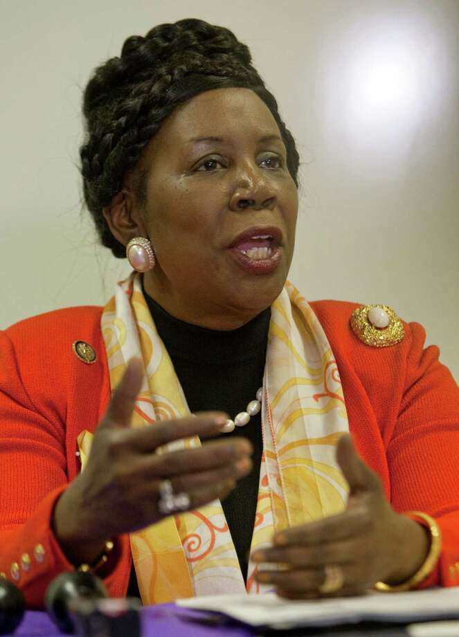 "In response to allegations that there may have been fraud in the 2008 presidential elections, Lee brought race into play when she said the allegations probably started ""maybe because we elected the first African American president.""Related: Sheila Jackson Lee denounces GOP fraud allegations Photo: Melissa Phillip, Houston Chronicle / © 2011 Houston Chronicle"