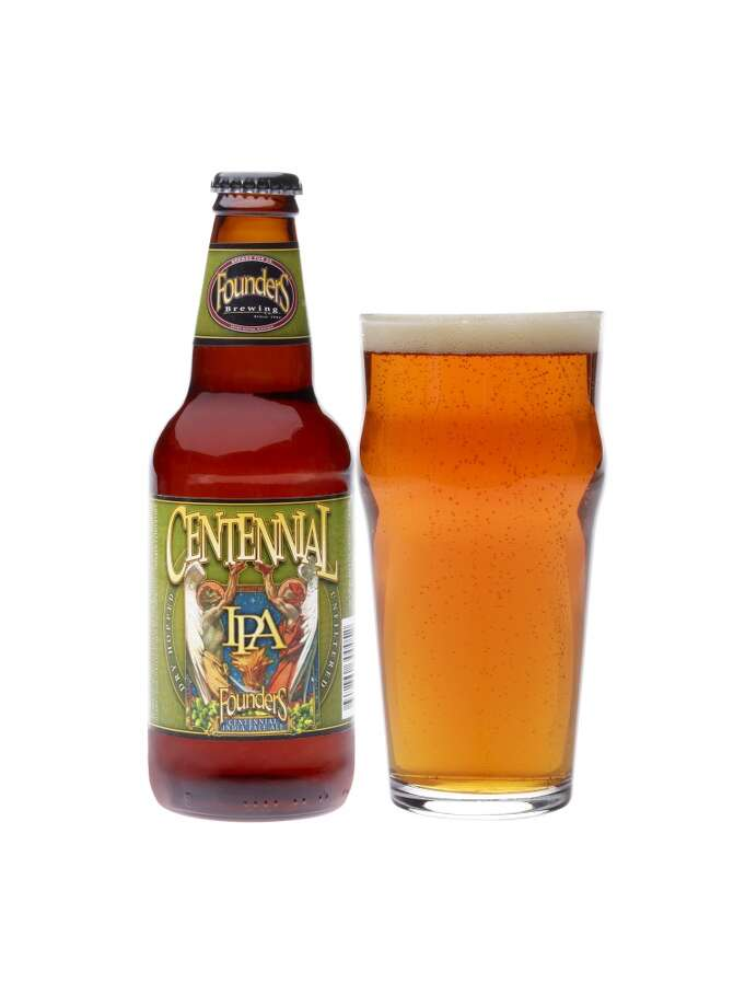 Centennial IPA is one of the beers from Founders Brewing in Michigan that became available on draft in Texas just last month. Bottles are being rolled out this week.