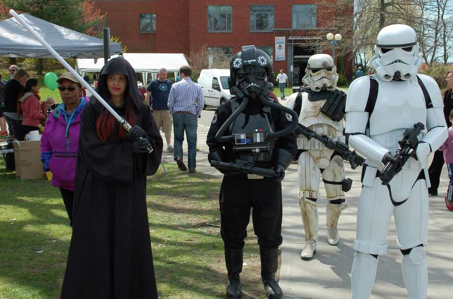 Saturday:Comic-Con comes to the Westport Public Library from 1 to 4 p.m., featuring a costume contest, workshops and more. For info, visit www.westportlibrary.org. Photo: Jarret Liotta / Westport News contributed