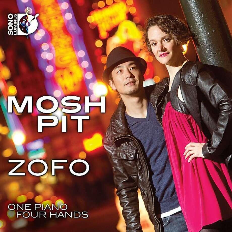 "cd cover: ""Zofo"" by Keisuke Nakagoshi and Eva-Maria Zimmermann. Photo: Sono Luminus"