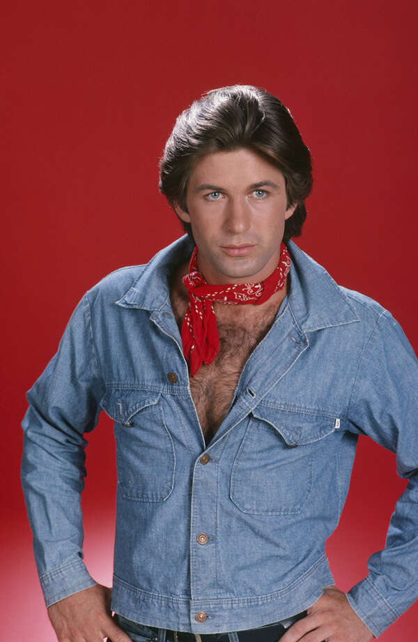 Alec Baldwin, rocking a bandana and chest hair, in the '80s, as ''Billy Allison Alrich'' in his first big TV show, ''The Doctors.'' Photo: NBC, NBC Via Getty Images / © NBC Universal, Inc.