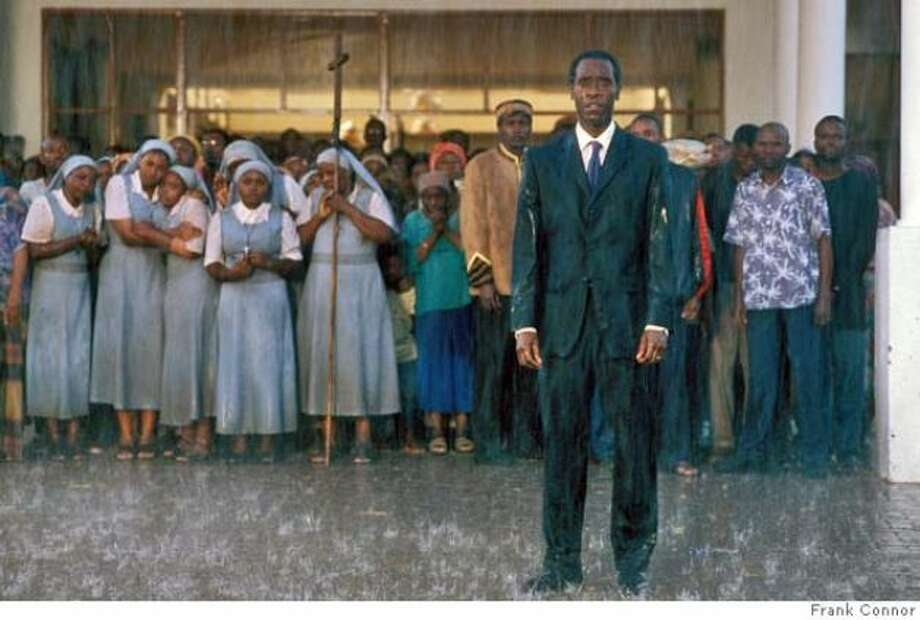 Hotel Rwanda -- great film, but the PG-13 rating is surprising.