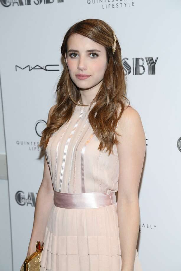 """NEW YORK, NY - MAY 05:  Emma Roberts attends the pre-Met Ball special screening of """"The Great Gatsby"""" at MOMA on May 5, 2013 in New York City.  (Photo by Rob Kim/Getty Images)"""