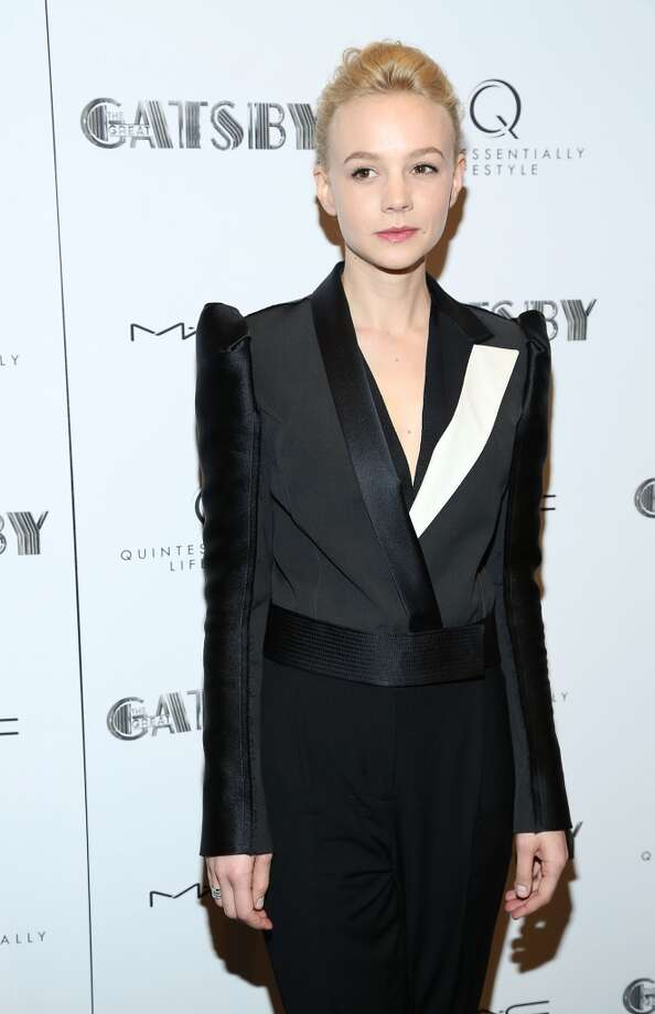 """NEW YORK, NY - MAY 05:  Carey Mulligan attends the pre-Met Ball special screening of """"The Great Gatsby"""" at MOMA on May 5, 2013 in New York City.  (Photo by Rob Kim/Getty Images)"""