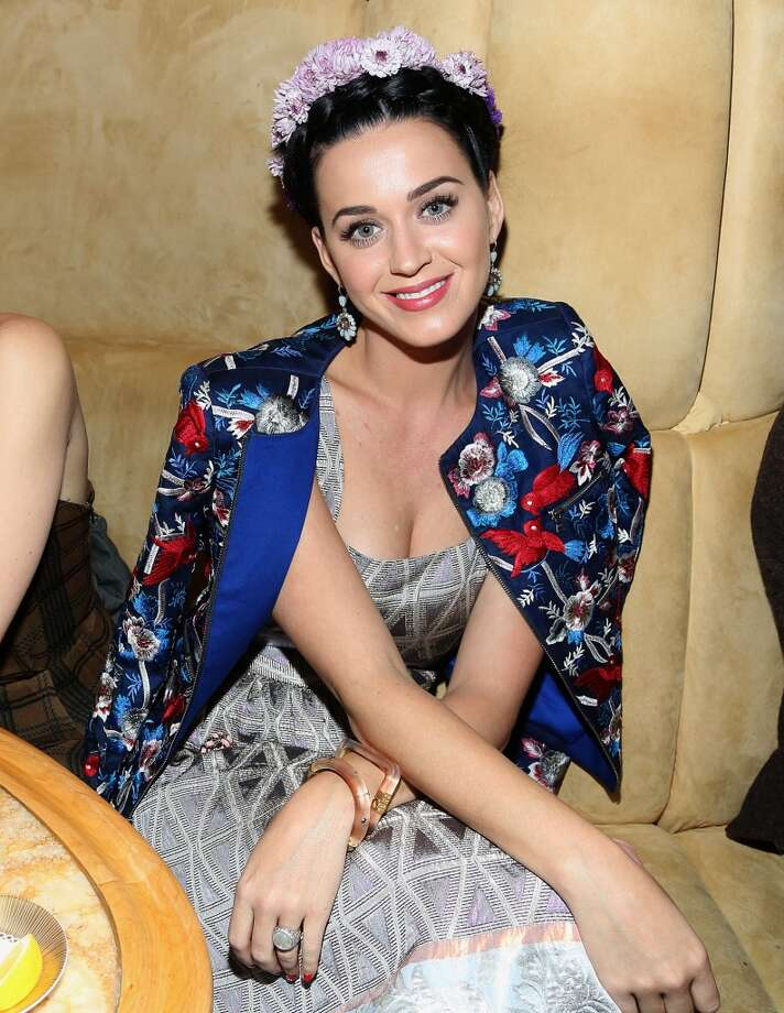 "NEW YORK, NY - MAY 05:  Katy Perry attends the the pre-Met Ball special screening of ""The Great Gatsby"" after-party at The Top of The Standard on May 5, 2013 in New York City.  (Photo by Rob Kim/Getty Images)"