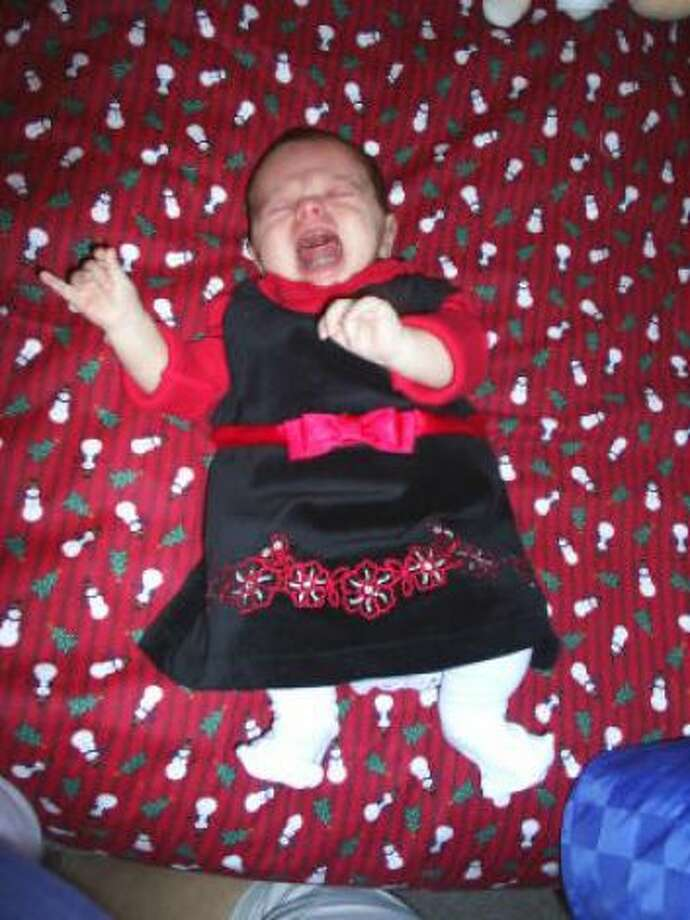 Addison hates her dress by Mommy Melissa Photo: HC