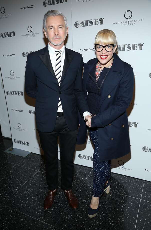 "NEW YORK, NY - MAY 05:  Baz Luhrmann and Catherine Martin attend the pre-Met Ball special screening of ""The Great Gatsby"" at MOMA on May 5, 2013 in New York City.  (Photo by Rob Kim/Getty Images)"