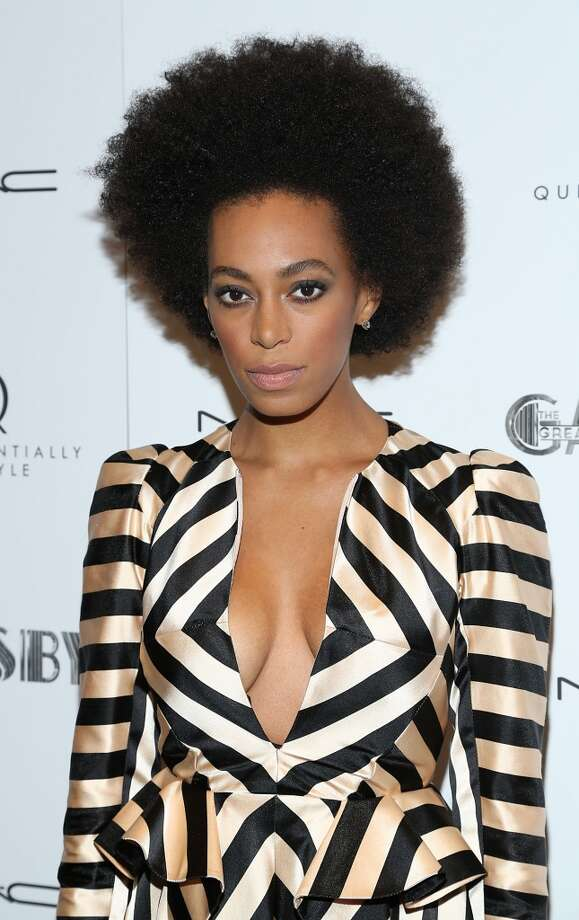 "NEW YORK, NY - MAY 05:  Solange Knowles attends Pre-Met Ball Special Screening Of ""The Great Gatsby"" at MOMA on May 5, 2013 in New York City.  (Photo by Rob Kim/Getty Images)"