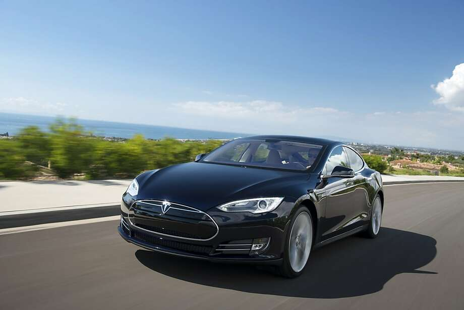 The Tesla Model S. The Model S was built from scratch, unlike the company's Roadster, which is built on the chassis of a Lotus sports car. Photo: Handout, McClatchy-Tribune News Service