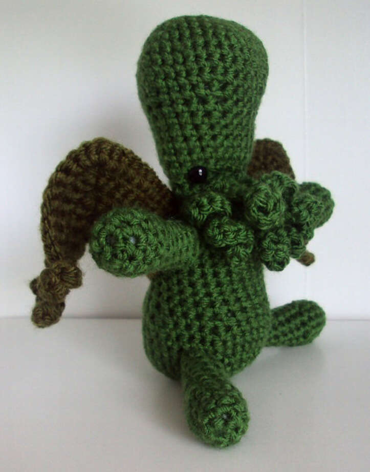 Cthulhu Inspired Doll