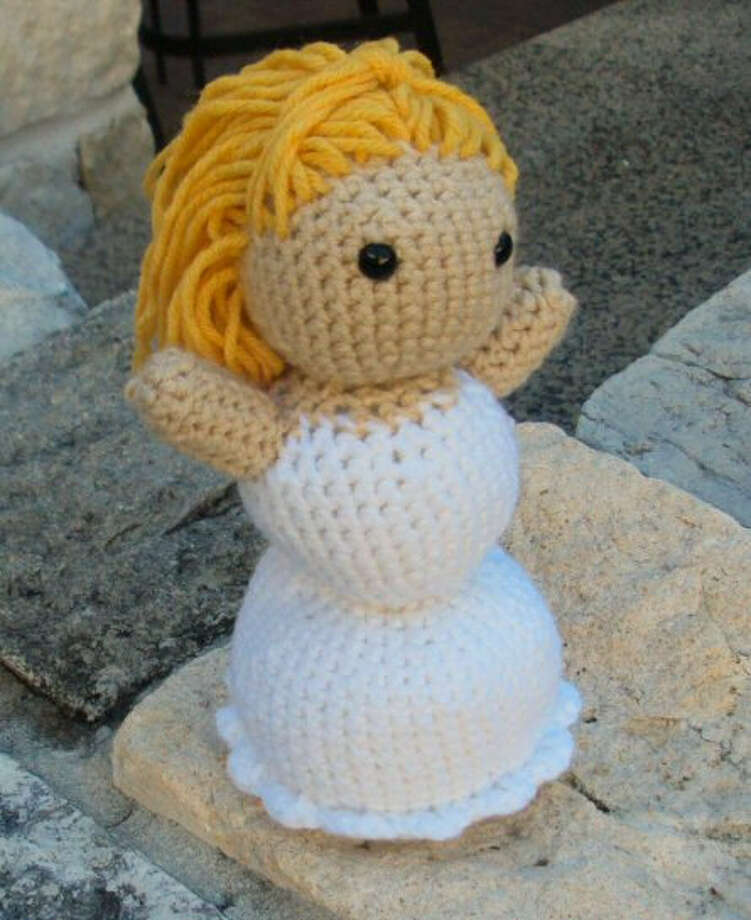 A soft, fuzzy bride