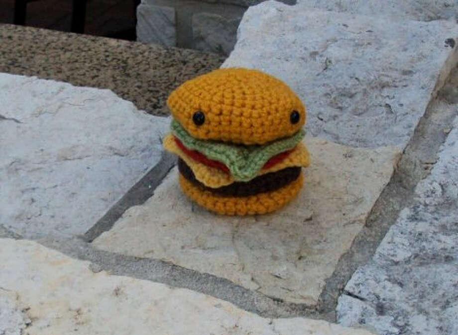 Amigurumi hamburger