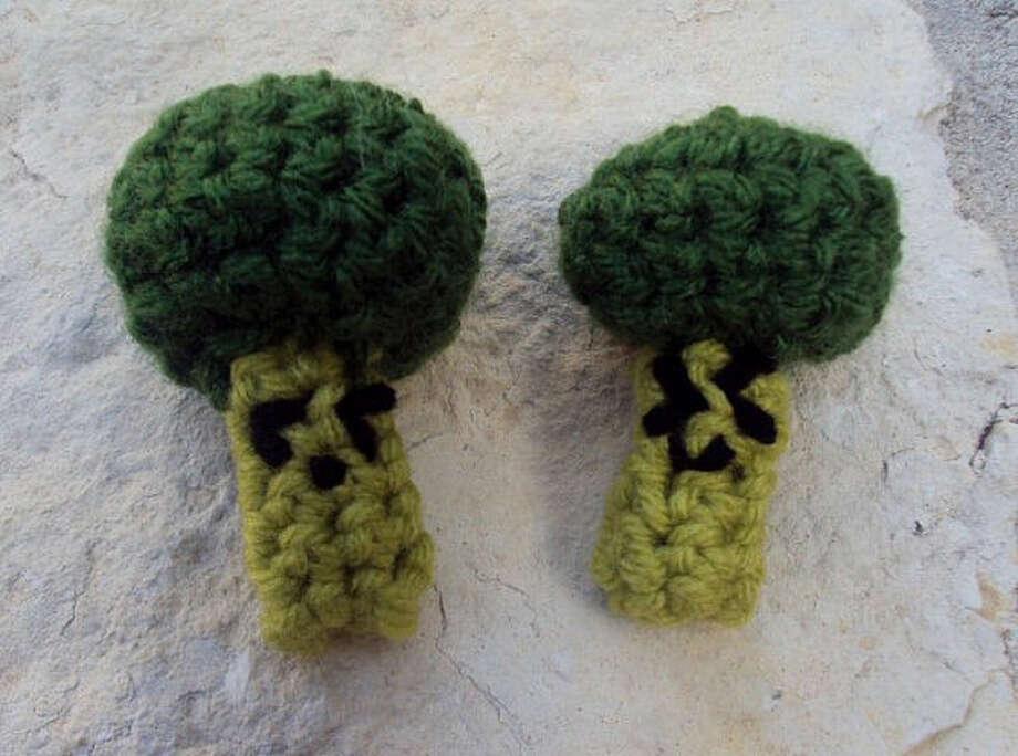Amigurumi broccoli