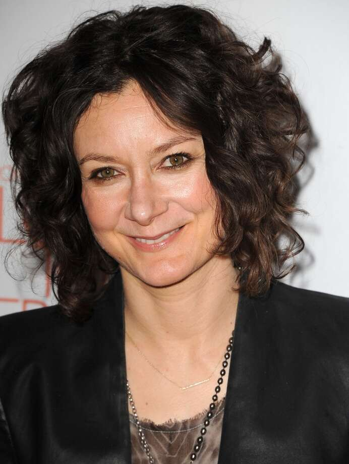 "CENTURY CITY, CA - MAY 03:  Sarah Gilbert arrives at the 20th Annual Race To Erase MS Gala ""Love To Erase MS"" at the Hyatt Regency Century Plaza on May 3, 2013 in Century City, California.  (Photo by Steve Granitz/WireImage)"