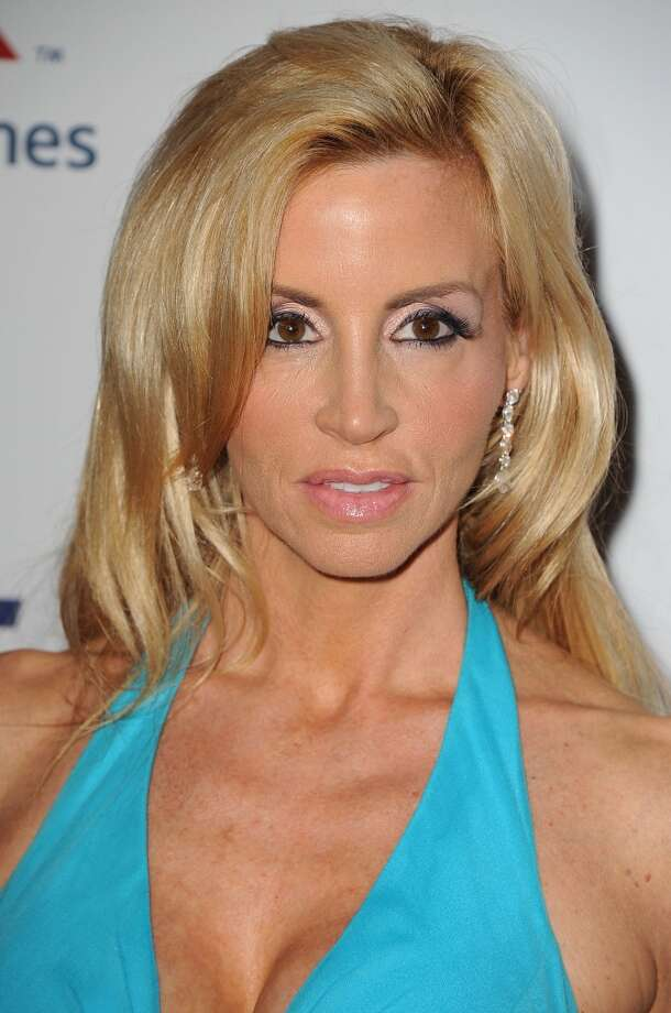 "CENTURY CITY, CA - MAY 03:  Camille Grammer arrives at the 20th Annual Race To Erase MS Gala ""Love To Erase MS"" at the Hyatt Regency Century Plaza on May 3, 2013 in Century City, California.  (Photo by Steve Granitz/WireImage)"