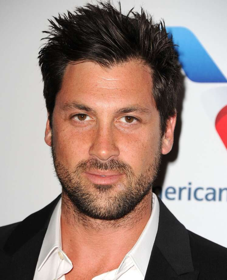 "CENTURY CITY, CA - MAY 03:  Maksim Chmerkovskiy arrives at the 20th Annual Race To Erase MS Gala ""Love To Erase MS"" at the Hyatt Regency Century Plaza on May 3, 2013 in Century City, California.  (Photo by Steve Granitz/WireImage)"