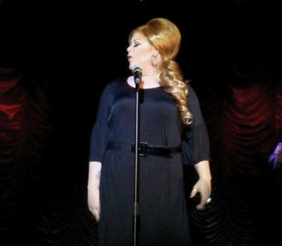 Marsha Mellow has found success with a spot-on Adele impersonation.