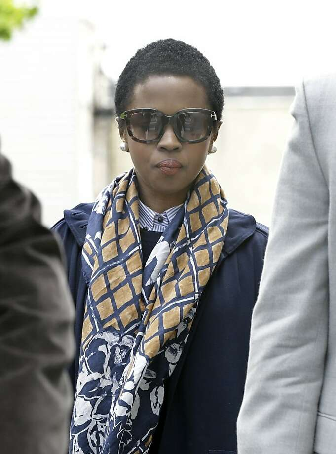 Singer Lauryn Hill had paid $900,000 in back taxes over the past several days. Photo: Mel Evans, Associated Press