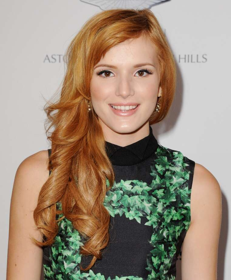 "CENTURY CITY, CA - MAY 03:  Actress Bella Thorne arrives at the 20th Annual Race To Erase MS ""Love To Erase MS"" Gala at the Hyatt Regency Century Plaza on May 3, 2013 in Century City, California.  (Photo by Jon Kopaloff/FilmMagic)"