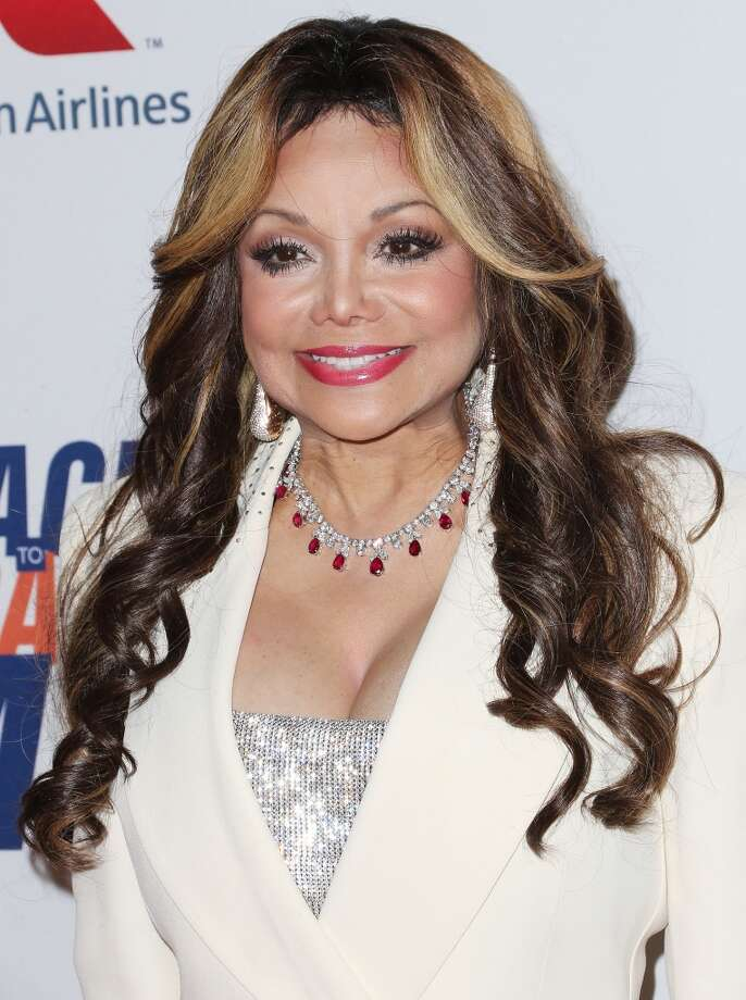 """CENTURY CITY, CA - MAY 03: Actress LaToya Jackson attends the 20th Annual Race to Erase MS Gala """"Love to Erase MS"""" at the Hyatt Regency Century Plaza on May 3, 2013 in Century City, California.  (Photo by Frederick M. Brown/Getty Images)"""