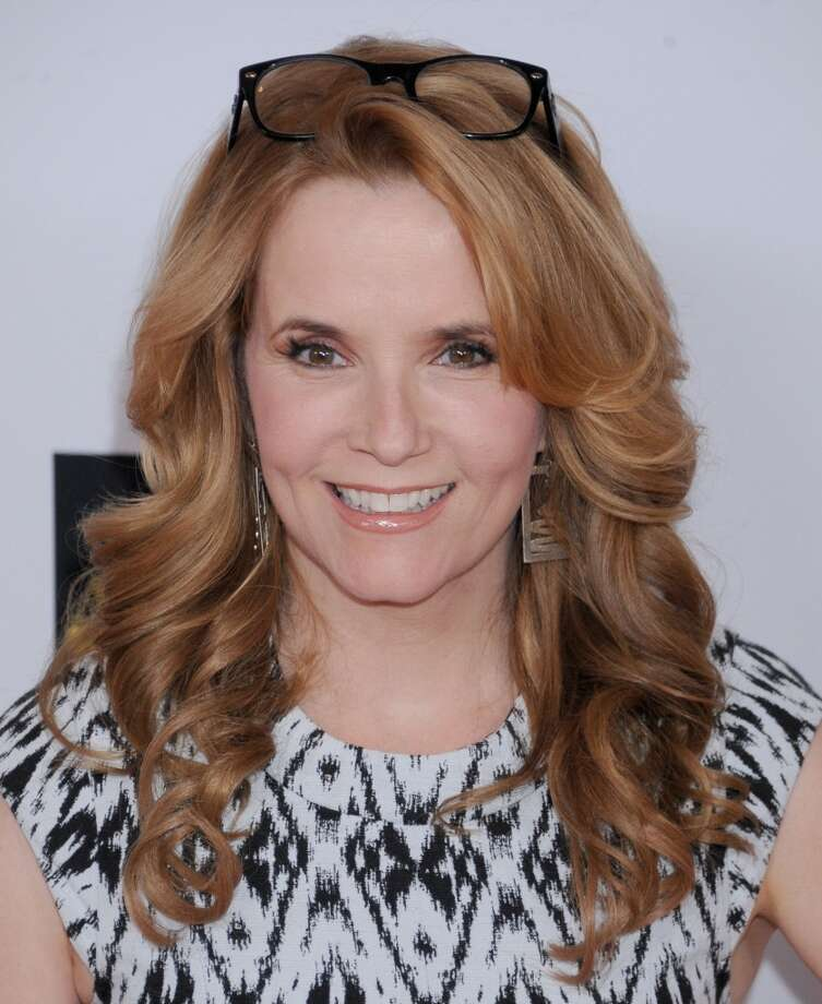 CENTURY CITY, CA - MAY 03:  Actress Lea Thompson arrives at the 20th Annual Race To Erase MS Gala 'Love To Erase MS' at the Hyatt Regency Century Plaza on May 3, 2013 in Century City, California.  (Photo by Gregg DeGuire/WireImage)